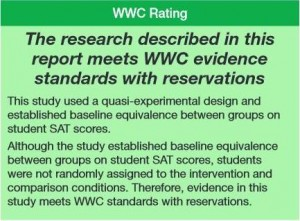 WWC Meets with Reservations