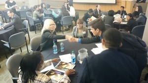 SF Fed mentors work with students to hone their resume and interview skills