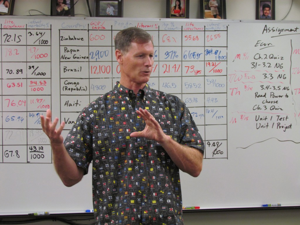 2014.08.14 Teacher Spotlight - Stan Herder 1
